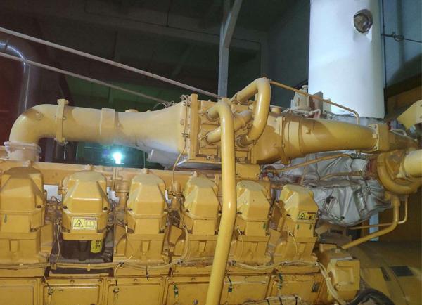 燃气发电机组转速维修